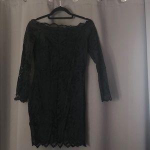 That little black lace dress